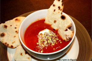 Pomidorowa z pieczonej papryki