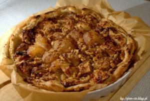 Tarta gruszkowo-jabłkowa