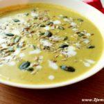Pyszna zupa-krem z borkułów