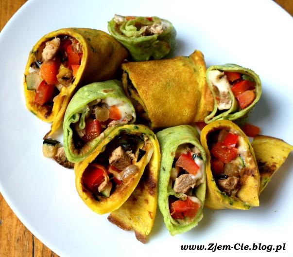 Farsz warzywno-mięsny do naleśników