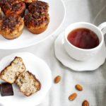 Muffinkmi z mąki migdałowej