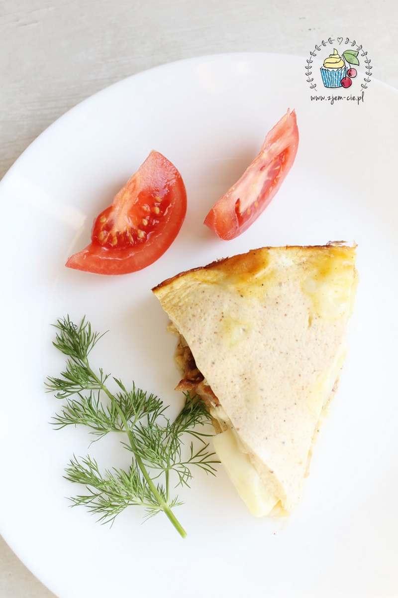 Zapiekanka ziemniaczana - kawałek